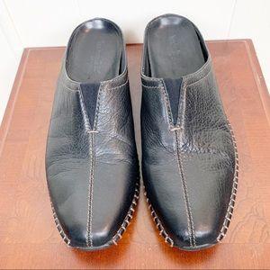 Timberland leather comforia flex mules